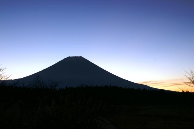 DSC07990朝日の富士
