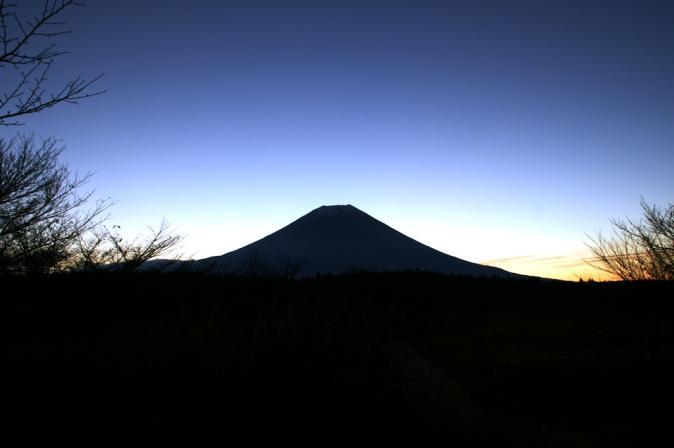 DSC07984朝日の富士