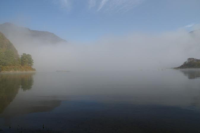 DSC08255精進湖靄