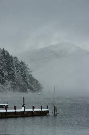DSC00177雪の芦ノ湖