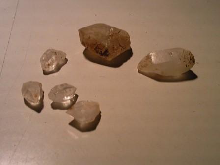 冷池の水晶