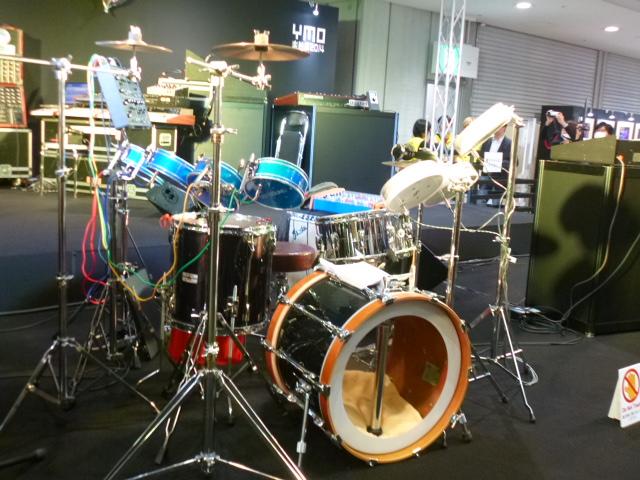 ユキヒロさんのドラム