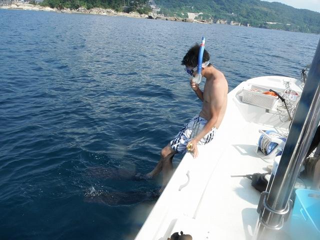 水深15mに挑戦