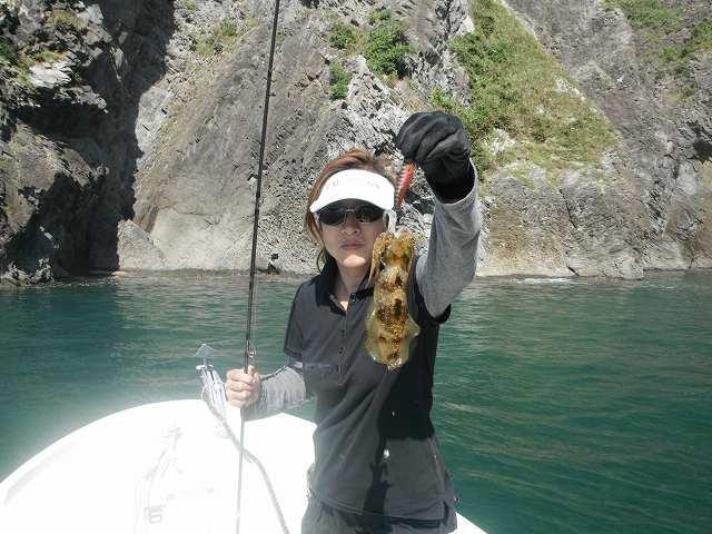 釣っちゃってます。
