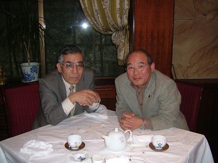 達也君と食事at赤坂維新號S