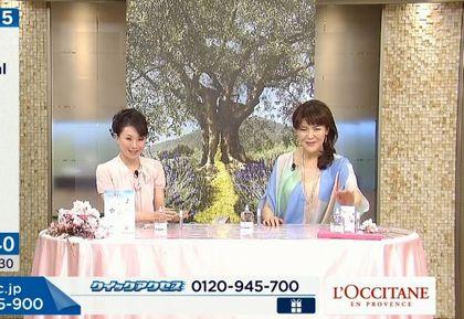 神戸ライフ:長谷井さんとビューティーアドバイザー松本弥子(やすこ)さん(小)