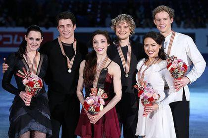 神戸ライフ:2013.2.10 アイスダンス表彰式