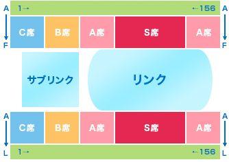 神戸ライフ:座席表2013