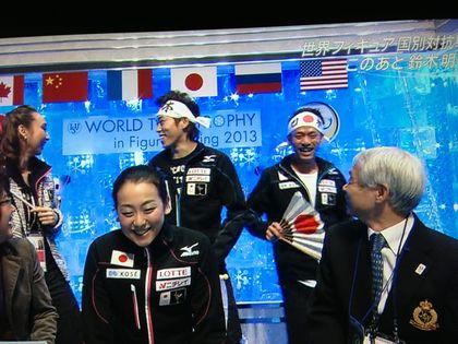 神戸ライフ:大ちゃんキスクラ②真央ステップに大満足