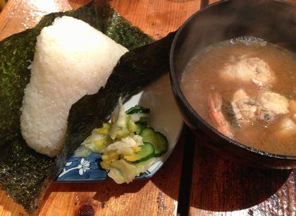 神戸ライフ:川端鮮魚店12 おにぎり