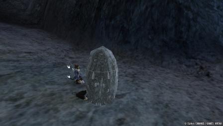 岩に下敷きの刑