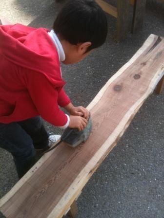 椅子作り (2)