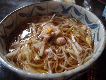 鴨南蛮蕎麦