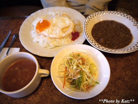 グリーンホテル朝食 (1)