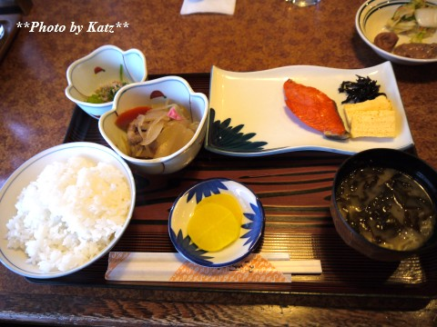 グリーンホテル朝食 (2)