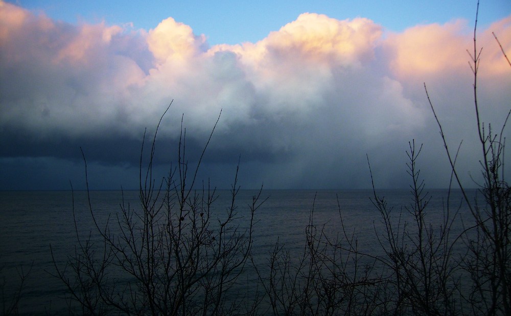 石狩湾の冬1