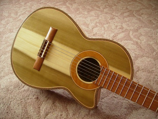 完成菊ギター第16号ボディー回転14