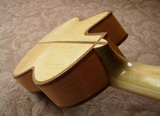 完成菊ギター第16号ボディーバックイメージ1