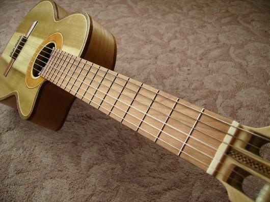 完成菊ギター第16号指板イメージ1