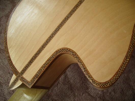 完成菊ギター第16号カッタウェイバックアップイメージ3