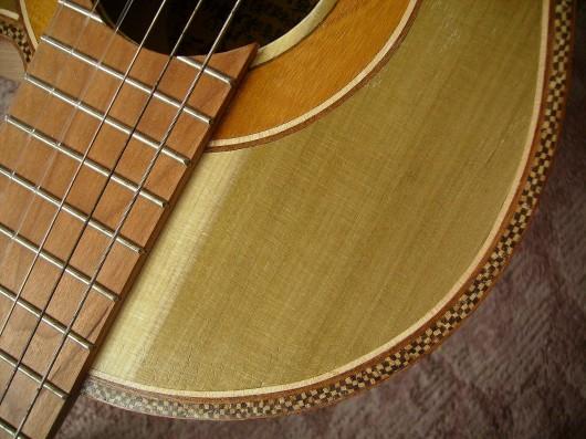 完成菊ギター第16号市松模様アップイメージ1