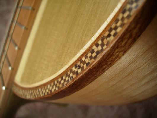 完成菊ギター第16号市松模様アップイメージ2