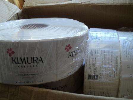 arriving label