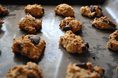 チョコチップとおからクッキー