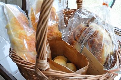 今日焼いたパンたち