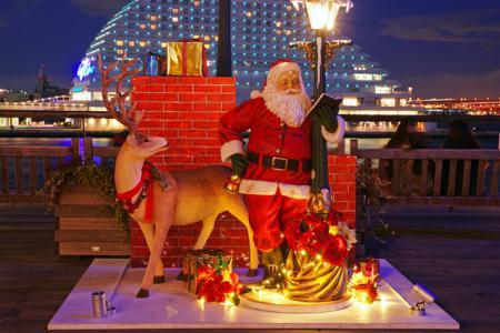 城崎温泉かにサンタのクリスマスイベント
