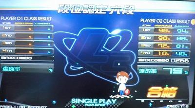 beatmania IIDX 19 Lincle SP6段ゲット
