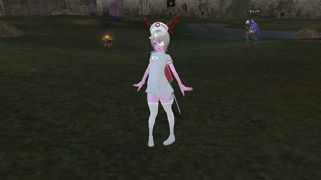 白衣の天使様?