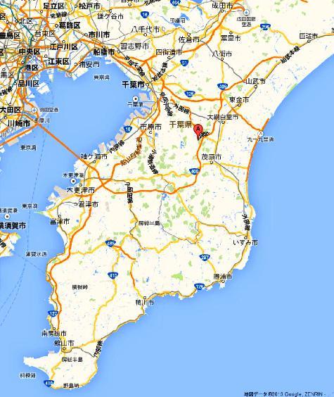 千葉県長生郡長柄町上野 -Google マップ0001