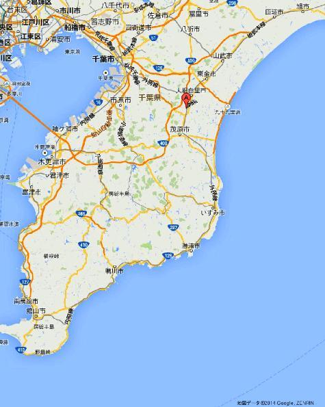 千葉県茂原市本納 橘樹神社 - Google マップ0001