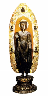 木造釈迦如来立像 (201x400)
