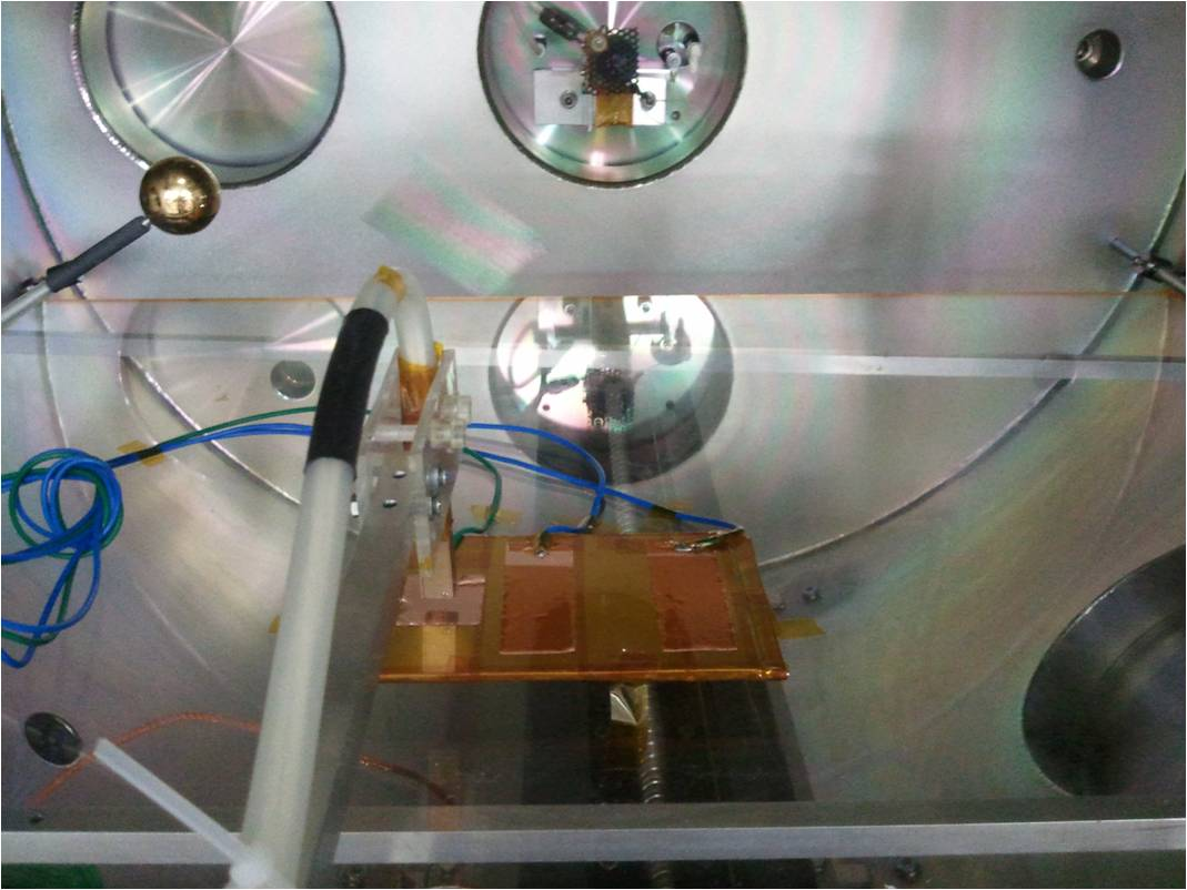 放電試験セッティング