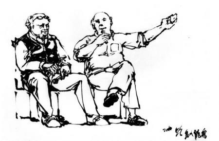 フランスコミック作家とワタクシ