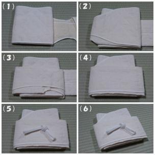 手作り麻の補整の作り方24