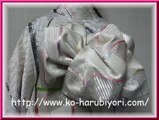 改良枕の創作帯結び3