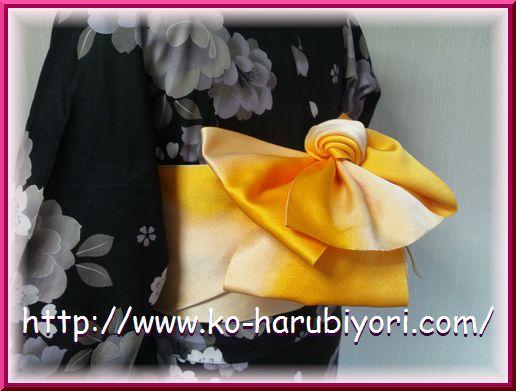 浴衣用作り帯●小春オリジナル1