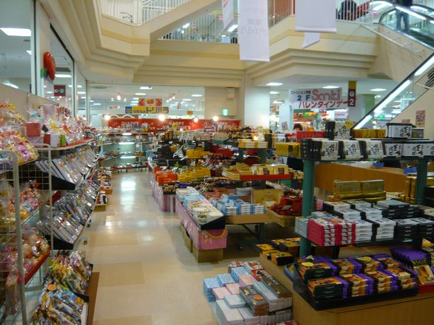 パオのチョコ売り場