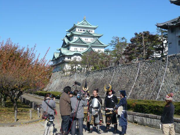 名古屋城と…