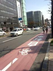2013年3月30日自転車道2
