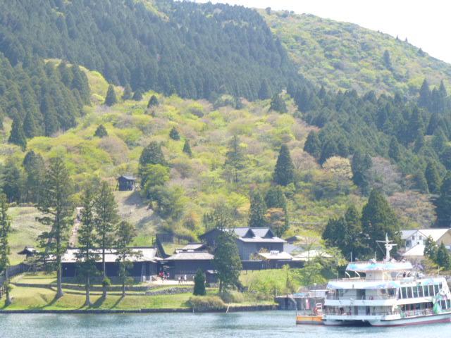芦ノ湖からの眺め
