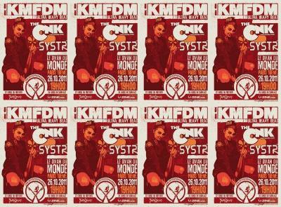 KMFDM Paris-2011
