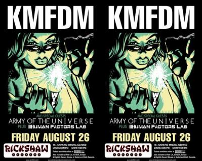 KMFDM VANCOUVER