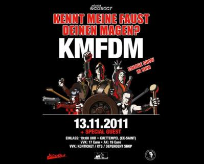 KMFDM Oberhausen 2011