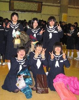 すーこ卒業式