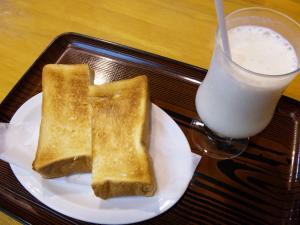 バナナジュース&トースト