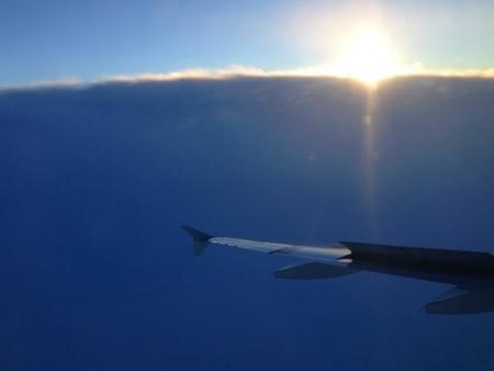 日本海の雲